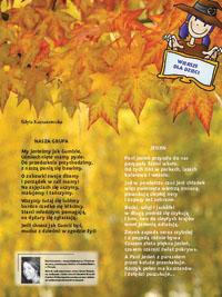 Wiersze Dla Dzieci Nasza Grupa Jesień Scenariusze Zajęć