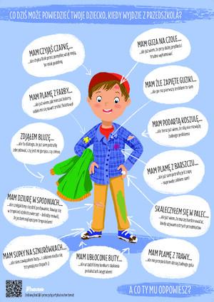 Plakat Samodzielny Przedszkolak Pomoce Dydaktyczne