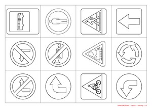 Znaki Drogowe Cz 1 Pd Pomoce Dydaktyczne Miesiecznik