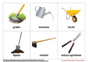 Jesień kończy pracę w ogrodzie, cz. 1 (PD) - Pomoce dydaktyczne ...