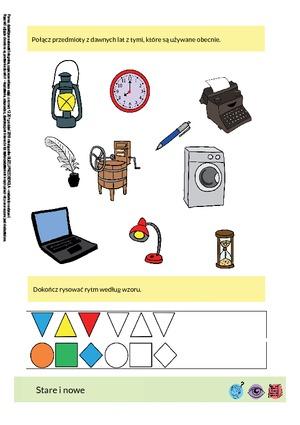 Stare i nowe (PD) - Pomoce dydaktyczne - Miesięcznik - BLIŻEJ PRZEDSZKOLA