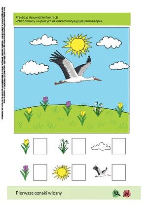 Pierwsze oznaki wiosny (PD) - Pomoce dydaktyczne - Miesięcznik ...