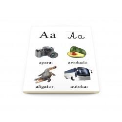 Alfabet – plansze edukacyjne