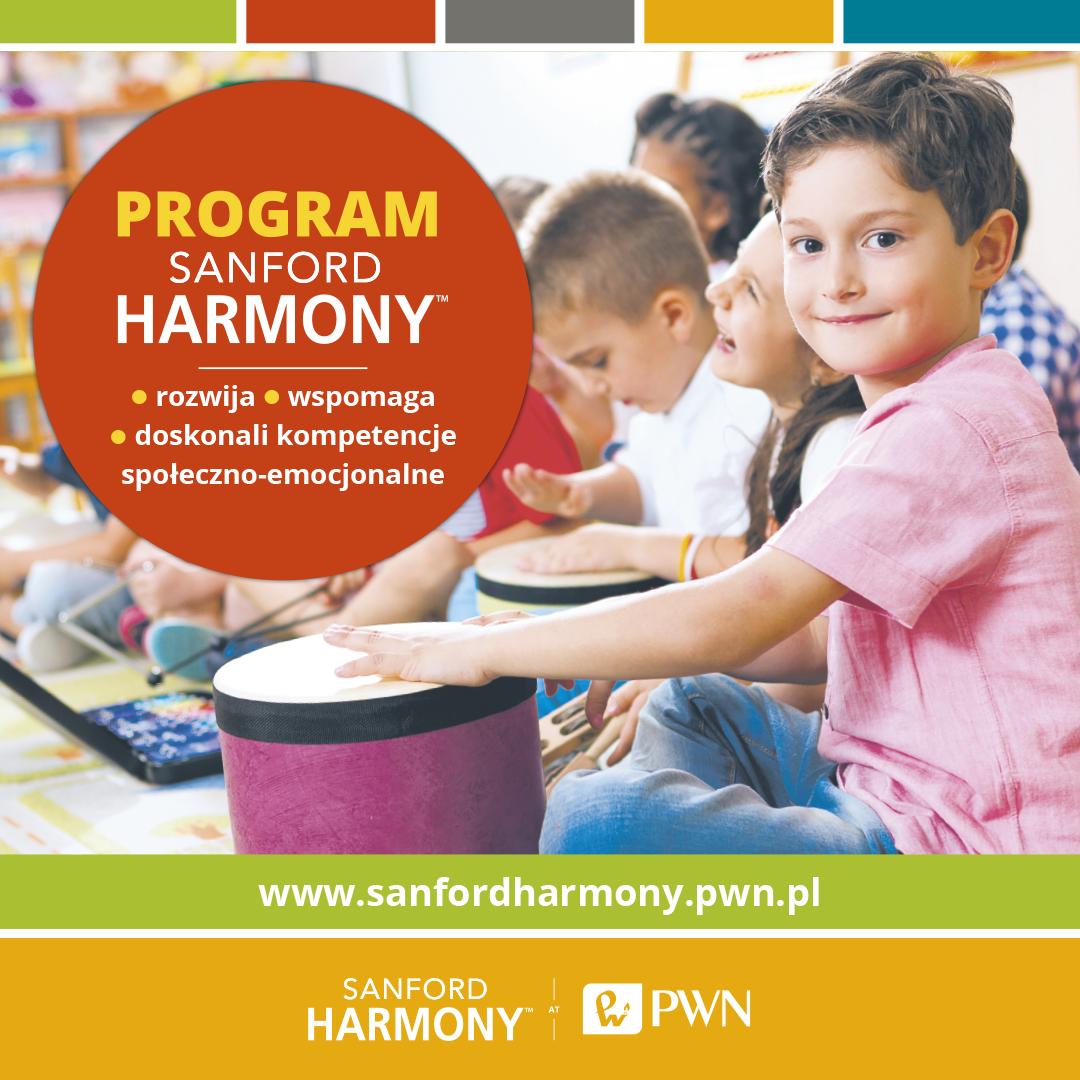 Program Sanford Harmony [reklama] - Polecamy - BLIŻEJ PRZEDSZKOLA