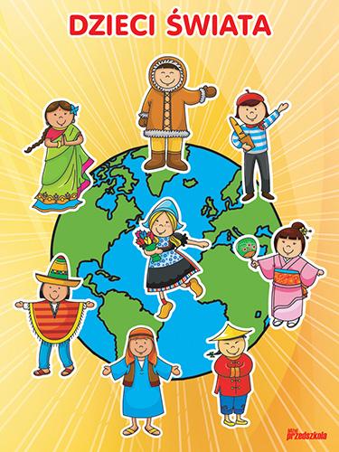 plakat dzieci Świata scenariusze zaję� i artyku�y